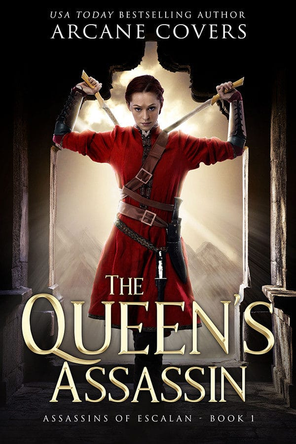 The Queens Assassin - Arcane Covers - Epic Fantasy